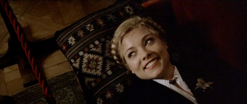 Theresa Russell braids in Bad Timing