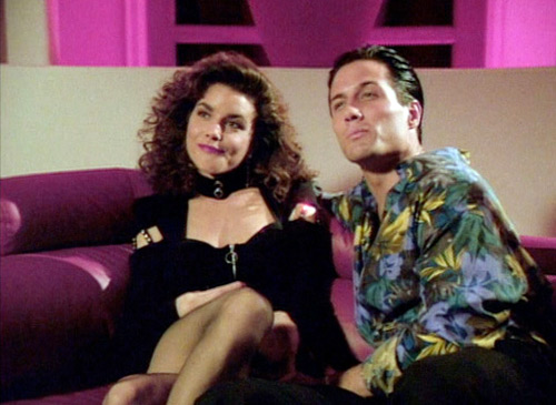 """Sam"" and ""Sam"" Undercover in Silk Stalkings"