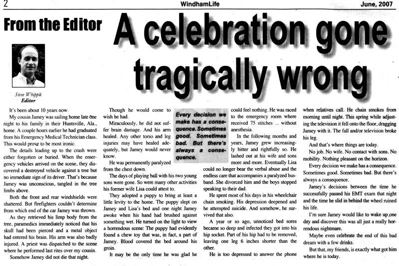 A Celebration Gone Tragically Wrong