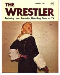vintage the wrestler magazine