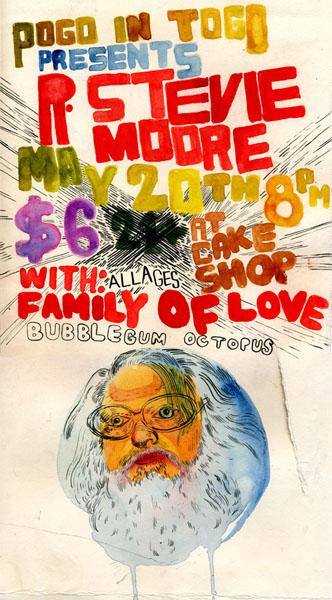 R Stevie Moore Poster