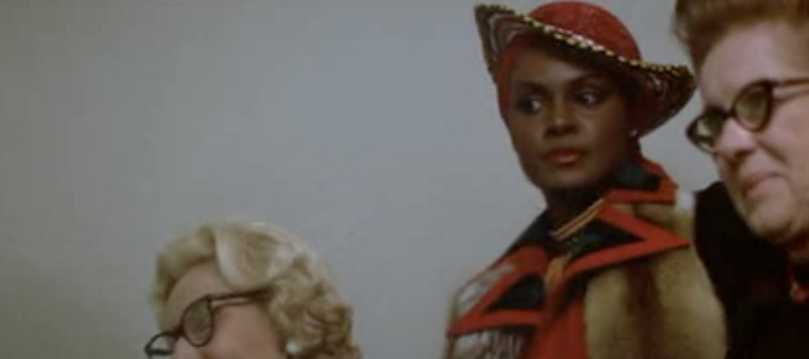 Cleopatra Jones at the Airport