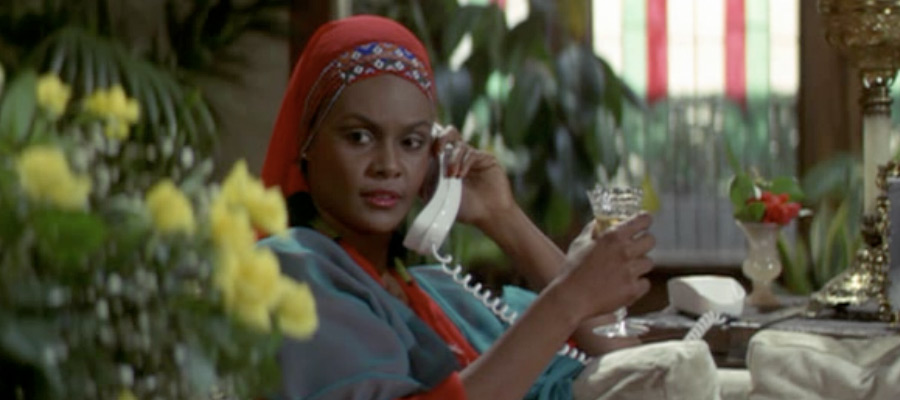 Cleopatra Jones on the Phone