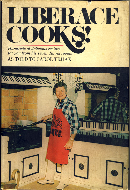Liberace Cooks Cover