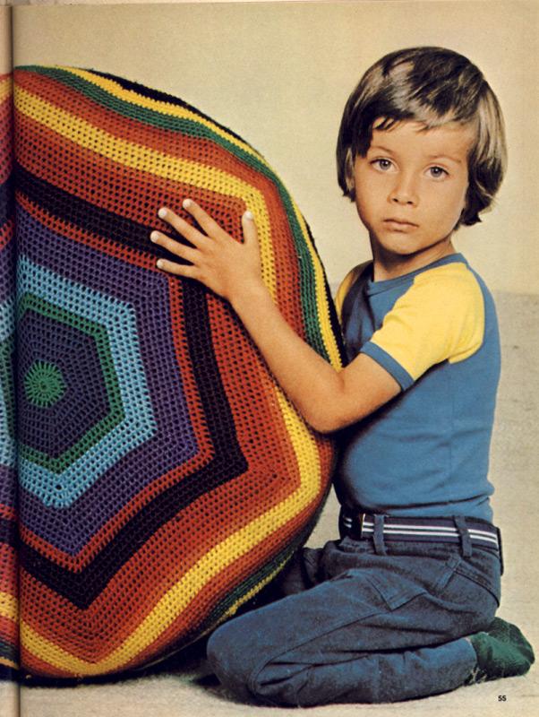 Crochet Ball 1970s