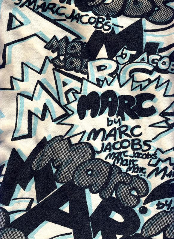marc graffiti print