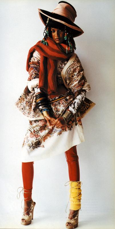 Mario Testino Wild and Wild Italian Vogue 2002