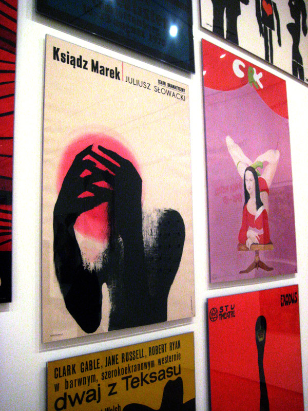 polish posters at the MoMA