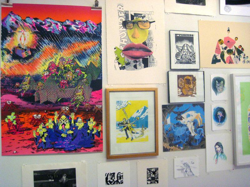 giant robot print show