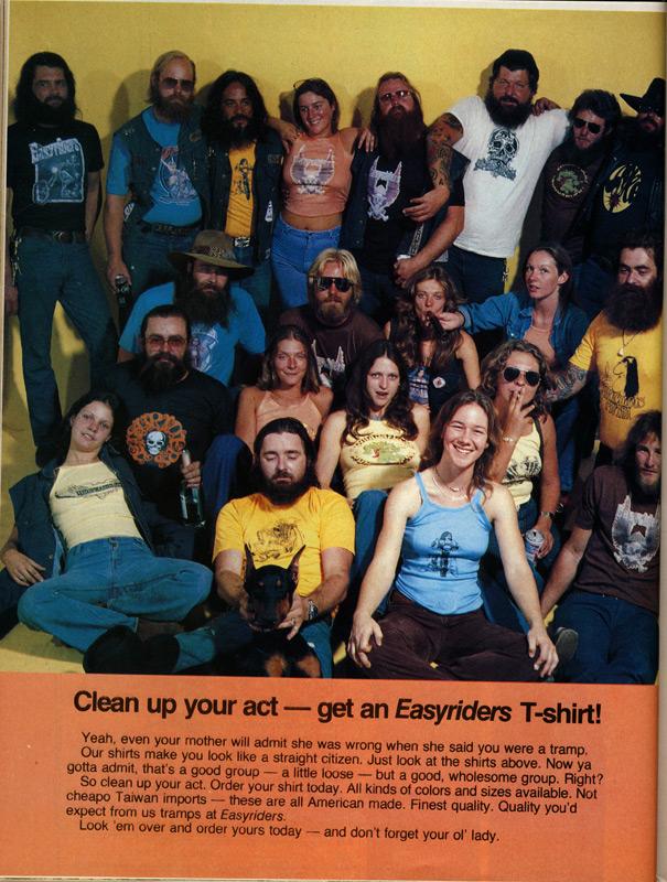 Easyriders Tee Shirt Ad