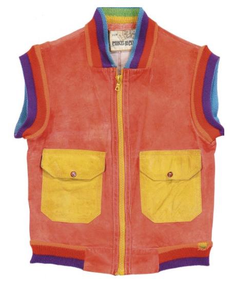James Brown's rainbow vest