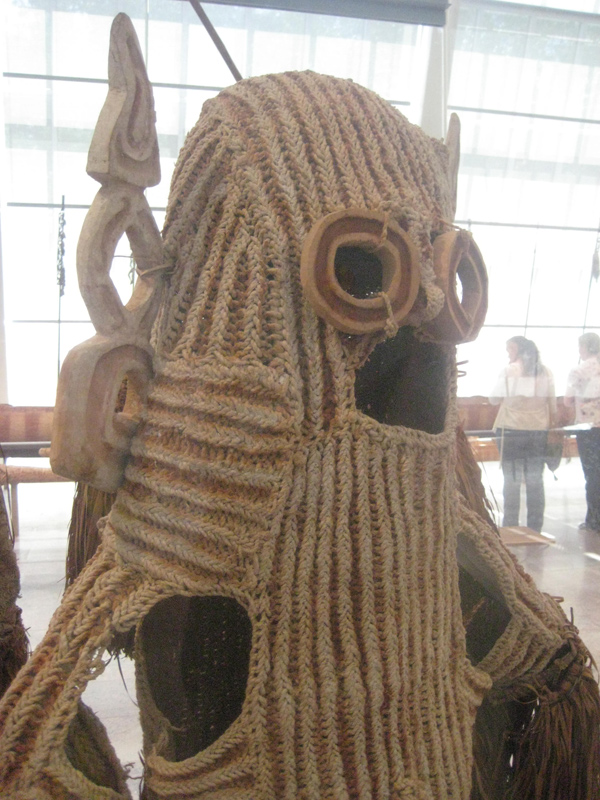 mask at museum