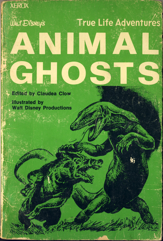 cover animal ghosts