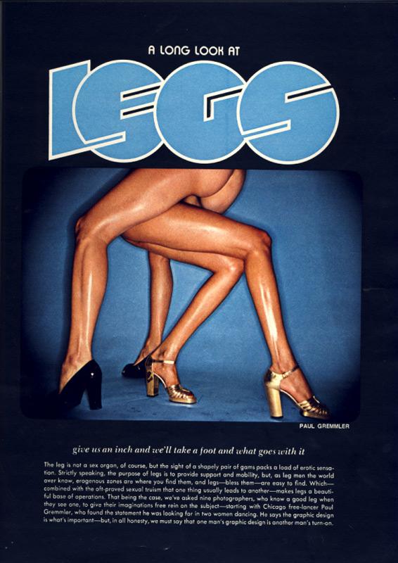 Legs Playboy 1975