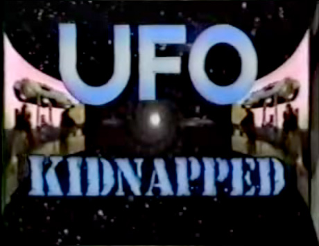 UFO Kidnapped Title scene