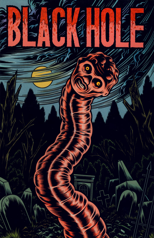 Black Hole by Charles Burns - Issue Number 3, front cover