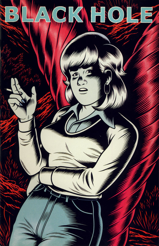 Black Hole by Charles Burns - Issue Number 6, front cover