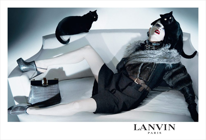 lanvin cat lady