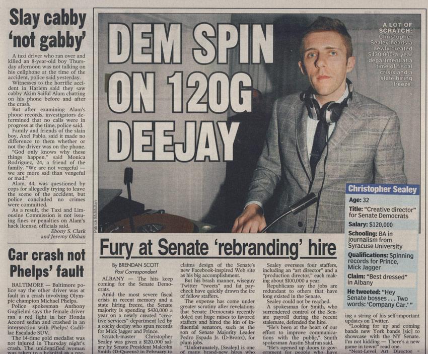 NY Post 8 15 2009