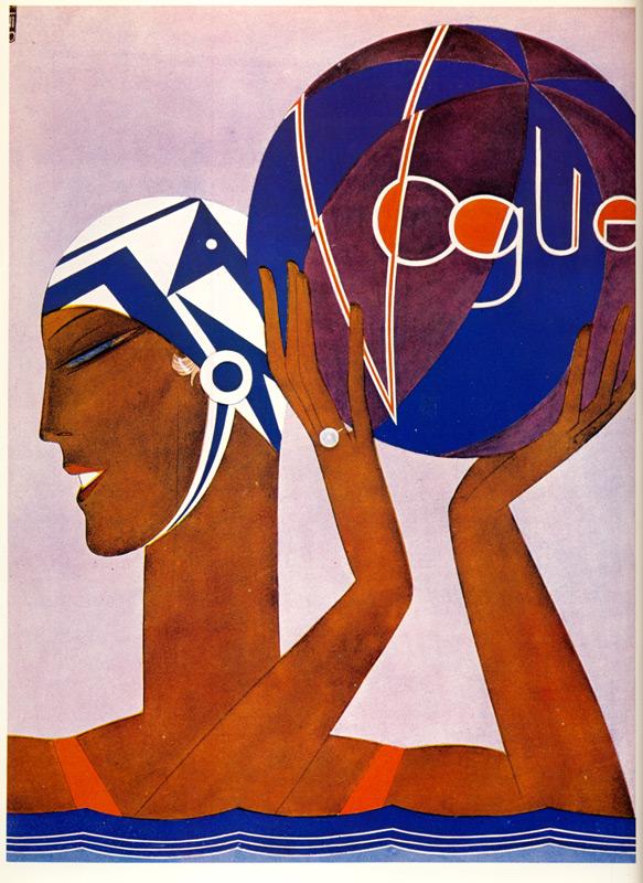 vogue cover 1927