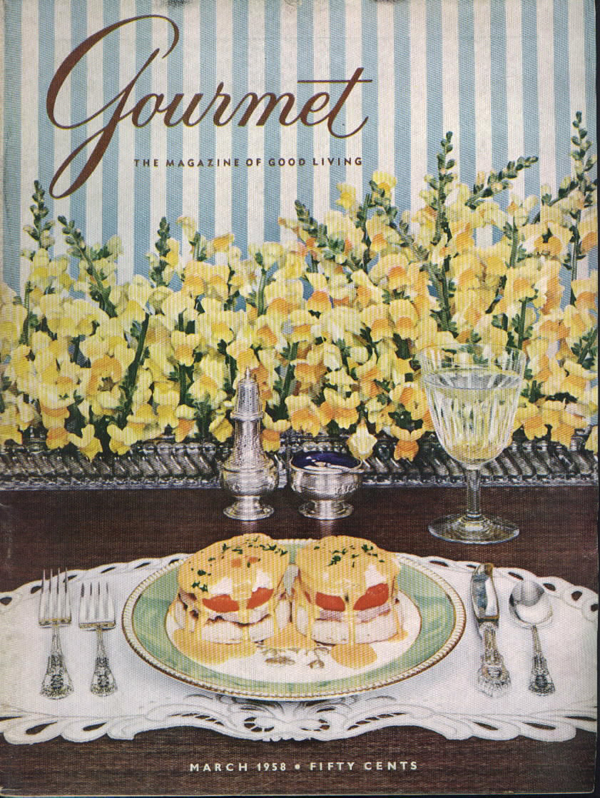 Gourmet-March-1958