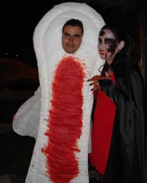 Maxi Pad Costume