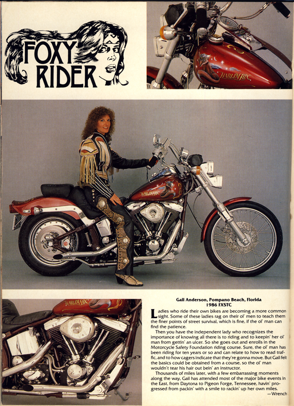 foxy rider easy riders magazine