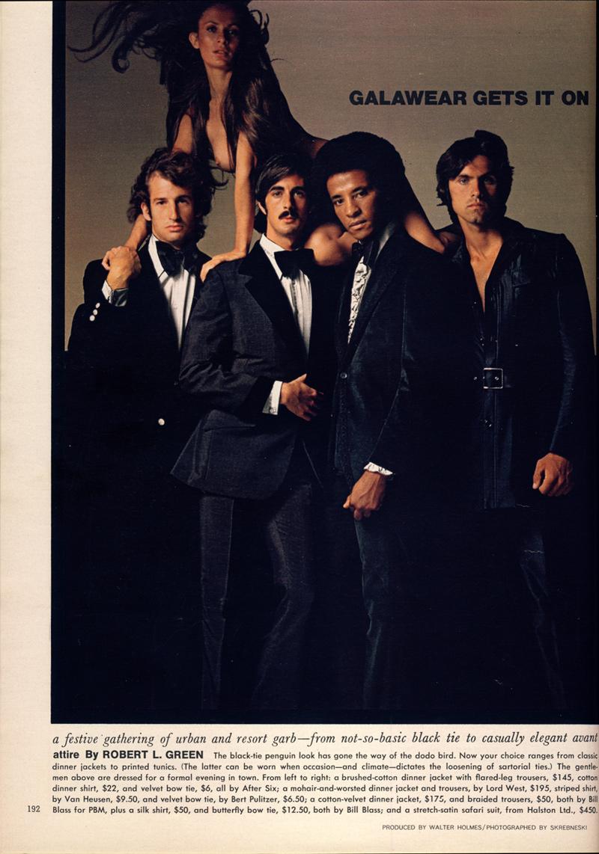 playboy 1971 gala wear