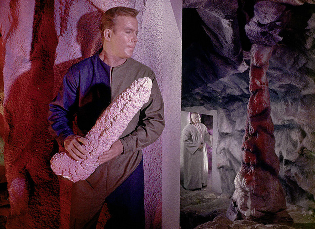 kirk and his stalagtite